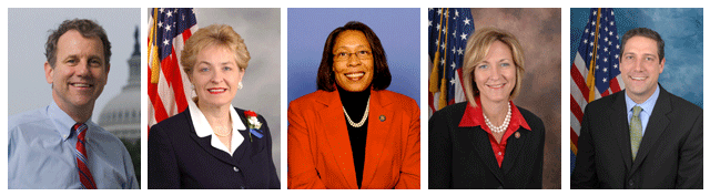 Five Ohio Members of Congress Recognized by NFU