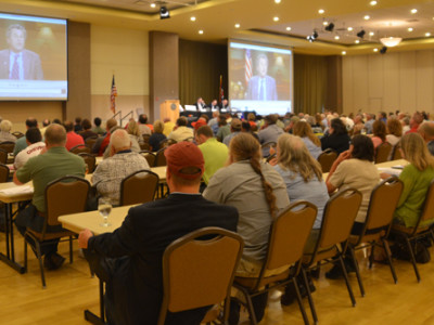 More than 250 farmers and others interested in Ohio agriculture attended a recent 2014 Farm Bill Forum sponsored by the Ohio Farmers Union.