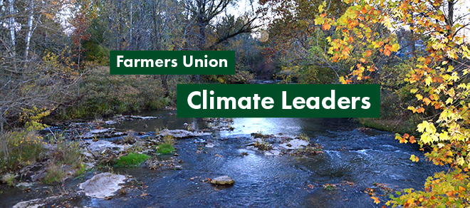 Farmers Union Commitment to Fight Climate Change